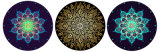 [مندلا] طبق [نتثرل روبّر] مستديرة نظام يوغا حصار