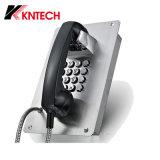 El teléfono Emergency Knzd-07A impermeabiliza el teléfono del sitio limpio de las compañías farmacéuticas del teléfono