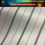 Guarnición blanca clásica, raya teñida de los hilados de polyester para la guarnición del juego (S62.70)