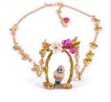 De Franse Halsbanden van de Tegenhanger van de Vogels van de Bloem van de Manier Verse voor Vrouwen