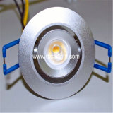 7X1w 고성능 LED Downlight (QC DL 7X1W 95mm B9)