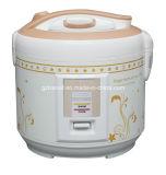 Cuiseur de riz électrique avec le boîtier de luxe d'impression de fleur