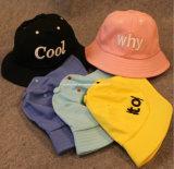 Chapéu de Sun das crianças dos chapéus do miúdo do algodão/cubeta do bebê