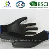 Верхней части PU ESD перчатка Nylon подходящая (SL-PU207)