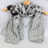 Шали печатание формы сердца, шарф вспомогательного оборудования способа женщин