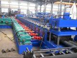 Roulis en acier de longeron de butoir de profil formant la machine pour le matériau de construction