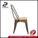 Металл сплавливания Dhp обедая античный стул с деревянной медью Antique места