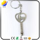 Цепь металла формы ключа логоса Сингапур Shine ключевая с Rhinestone