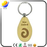 Цепь симпатичной овальной формы деревянная ключевая