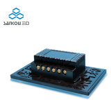 3gang 2way 저희 118의 표준 수정같은 유리 위원회 백색 벽 접촉 스위치 LED 전등 스위치 110V220V