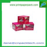 De Verpakkende Doos van het Product van de Gezondheid van de Geneeskunde van de Voeding van het Karton van de douane