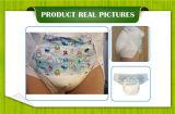 OEMの使い捨て可能で高い吸囚性の赤ん坊の印刷のかわいい大人のおむつAbdl