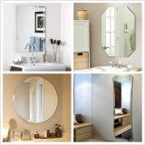 LEIDENE van de Badkamers van de Spiegel van de Muur van het Glas van de Vlotter van 2mm~6mm Duidelijke Spiegel