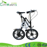 Projeto da X-Forma bicicleta de dobramento de 16 polegadas com 7 velocidades