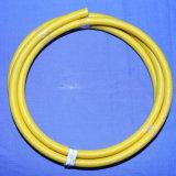 Borracha de silicone UL3125 isolada e fio trançado da fibra de vidro