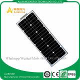 20W todo em uma luz de rua solar ao ar livre energy-saving do jardim do sensor de movimento do diodo emissor de luz