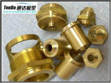 Bronze do OEM da precisão/produtos de bronze com fazer à máquina do CNC