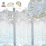 Teste padrão branco dos Tassels da tela do laço, romântico e bonito para o casamento C10060