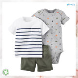 All-Over Printing Infant Clothes Conjunto de roupas para bebês