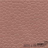 Carrelage en céramique antidérapant rouge de pierre de galet de salle de bains de Matt de porcelaine (300X300mm)