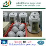 Kundenspezifischer CNC, der Plastikdeckelrapid-Prototyp maschinell bearbeitet