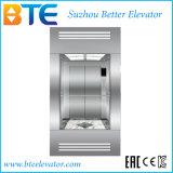 Elevatore panoramico Gearless del passeggero di Vvvf