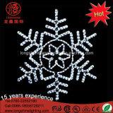 Lampe de flocon de neige à LED pour Noël