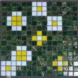 Mosaico verde del chino de Goldstar