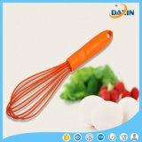 L'oeuf orange de silicones de couleur de catégorie comestible de 11 pouces battent