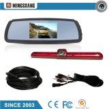 Sistema de seguridad del coche con monitor de espejo de 4.3 pulgadas y cámara impermeable trasera