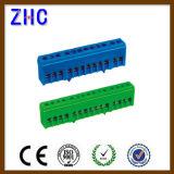 S02シリーズ7p、12pの15p DINの柵の電気ねじプラスチック銅の端子ブロック