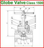 600lb API Globle Ventil (GAJ41W/GAJ41Y)