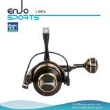 Bobine de pêche en bobines de bobines à moulage en aluminium à métaux complets (SFS-LA400)