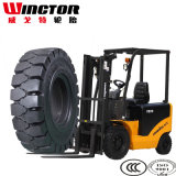 Pneu elevado do Forklift de China Qualiity 250-15, pneu industrial contínuo 250X15