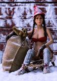 Западная кукла секса крупного плана стороны 140cm