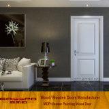 Portas inter do quarto do MDF da pintura branca do projeto simples (GSP8-034)