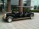 Coche eléctrico de la vendimia de 8 asientos, coche de visita turístico de excursión de E