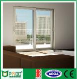 Алюминий Tempered стекла австралийский стандартный сползая французскую дверь (PNOCSLD0014)