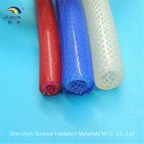 Silikon geflochtenes Schlauchsilikon-doppelte Schicht-Gewebe verstärktes Gummigefäß