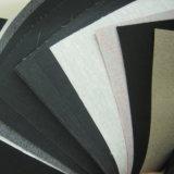 Cuero de Stocklot del asiento de coche del PVC más en negro