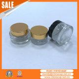 Опарникы 2 Oz стеклянные с крышками для косметический Cream упаковывать