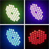 54*3W LEIDENE RGB 3 in 1 nietWaterdicht Licht van het PARI