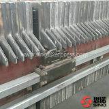 Fer de moulage chaud de vente de filtre-presse de plaque et de bâti pour l'industrie pétrolière