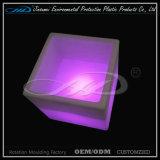 Recipiente plástico do diodo emissor de luz do cubo dos preços baratos para o armazenamento da cerveja