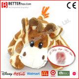Stuk speelgoed van de Giraf van de Pluche van de Dieren van China het Goedkope Gevulde