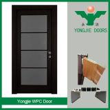 De China de la fábrica buena WPC puerta barata del diseño y de la venta