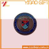 Kundenspezifisches Firmenzeichen-Qualitäts-Doppelt-Münzen-Andenken-Geschenk (YB-HD-146)