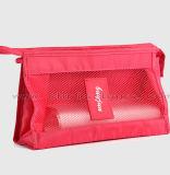La mode et la course utile composent le sac personnalisé clairement pour voir à travers le sac cosmétique