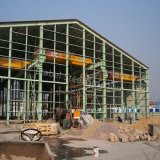 建物のためのプレハブの鉄骨構造の構築