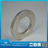 Imanes modificados para requisitos particulares N52 de NdFeB del neodimio del disco del anillo de la talla para el altavoz
